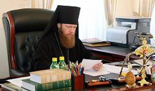 Наместник Новоспасского монастыря епископ Воскресенский Савва провел совещание, касающееся подготовки к престольному празднику обители