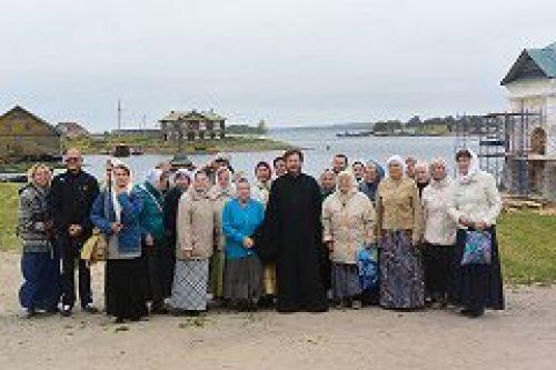 Прихожане храма прп. Сергия Радонежского в Крапивниках совершили паломническую поездку на Соловецкие острова