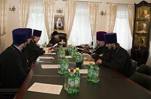 Состоялось заседание Совета благочиния Ставропигиальных приходов и Патриарших подворий в Московской области