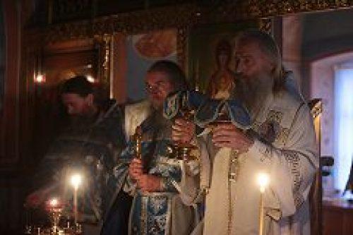 Председатель Синодального отдела по монастырям и монашеству архиепископ Сергиево-Посадский Феогност посетил Валаамский монастырь