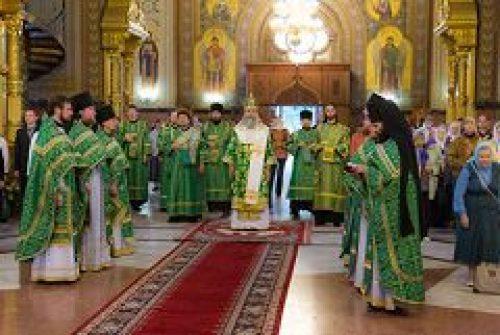 День памяти преподобного Пимена Угрешского в Николо-Угрешском монастыре
