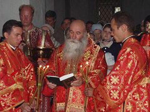 В Андреевском монастыре отметили престольный праздник