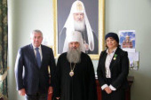 В Управлении делами Московской Патриархии состоялось вручение церковных наград