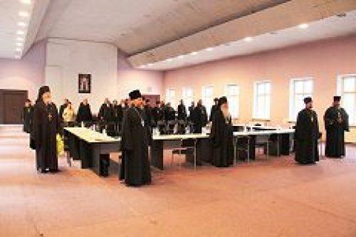 В Андреевском монастыре состоялось второе пастырское совещание духовенства и собрание Юго-Западного викариатства