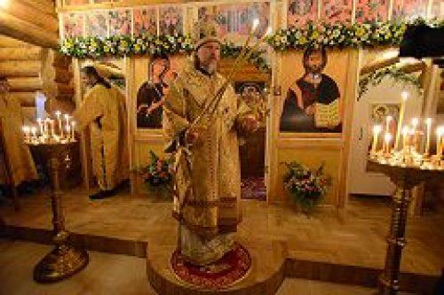 Архиепископ Егорьевский Марк освятил храм-часовню во имя архангела Гавриила на Ходынском поле