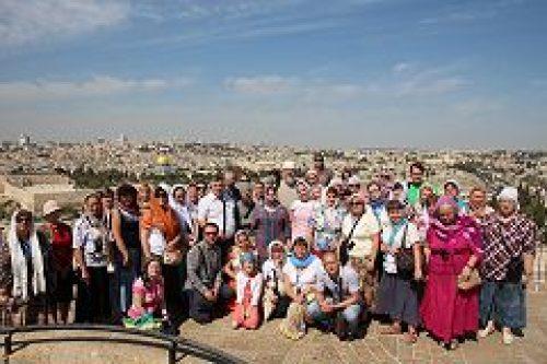 Прихожане храма Живоначальной Троицы в Чертанове совершили паломническую поездку на Святую Землю и в Иорданию