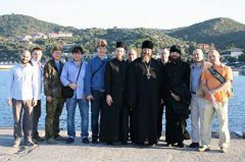 Состоялось совместное паломничество к святыням Греции клириков и мирян храмов прп. Евфросинии в Котловке и святого пророка Илии в Бутово