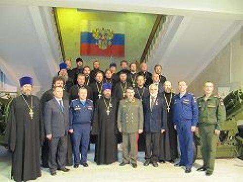 В Москве открылись курсы по обучению военных священников