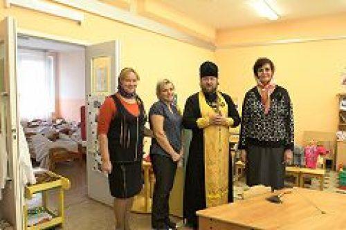 Помощник управляющего Юго-Западным викариатством по религиозному образованию и катехизации посетил детское дошкольное отделение №6 ГБОУ СОШ №2009