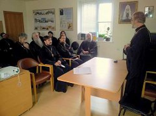 Состоялось собрание духовенства Ильинского благочиния викариатства Новых территорий