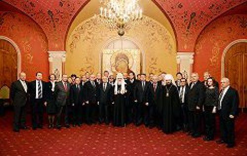 Святейший Патриарх Кирилл встретился со слушателями Высших дипломатических курсов Дипломатической академии МИД России