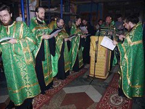 В храме преподобной Евфросинии возродилась дореволюционная традиция служения молебна об исцелении от бесплодства