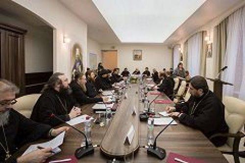 В Андреевском монастыре прошел круглый стол «Современные тенденции в сфере лицензирования и аккредитации и высшие духовные учебные заведения»