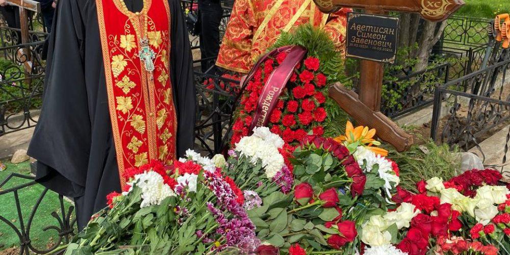 В храме Рождества Пресвятой Богородицы в Крылатском состоялось отпевание протодиакона Симеона Аветисяна