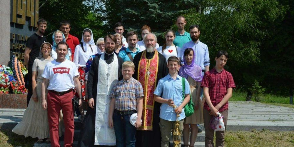 Молодежь Знаменского храма в Кунцеве совершила паломническую поездку по Волоколамскому району Московской области