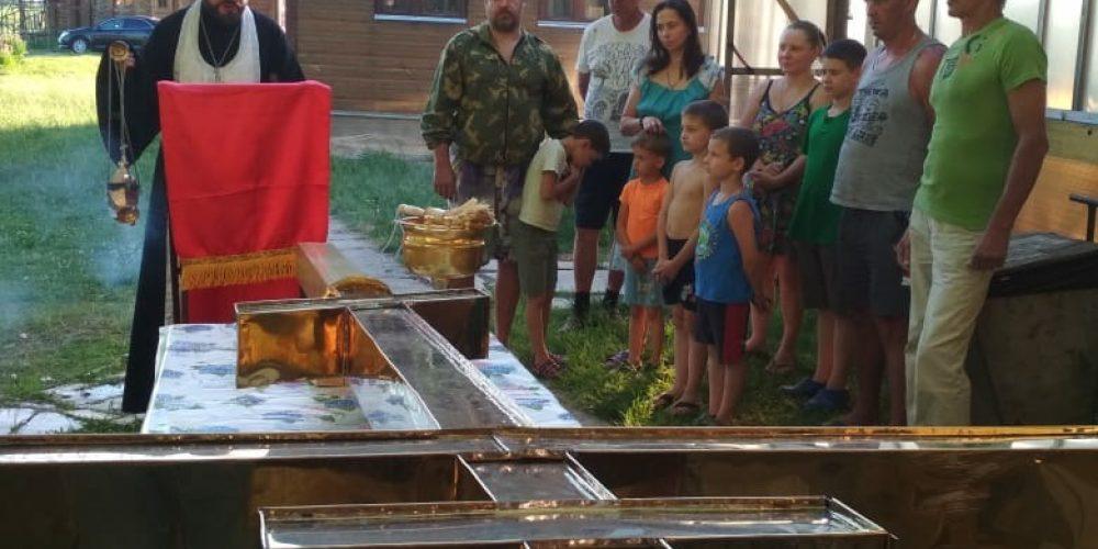 Завершился ремонт приписного храма свв. Кирилла и Мефодия в Кутьино