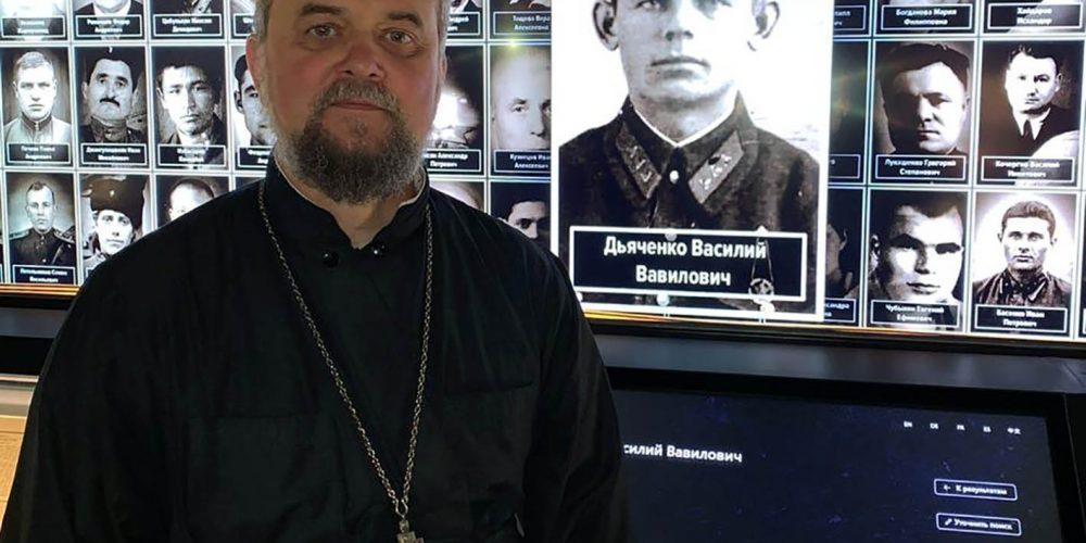 Интервью с иереем храма прп.Андрея Рублева в Раменках Андреем Дьяченко