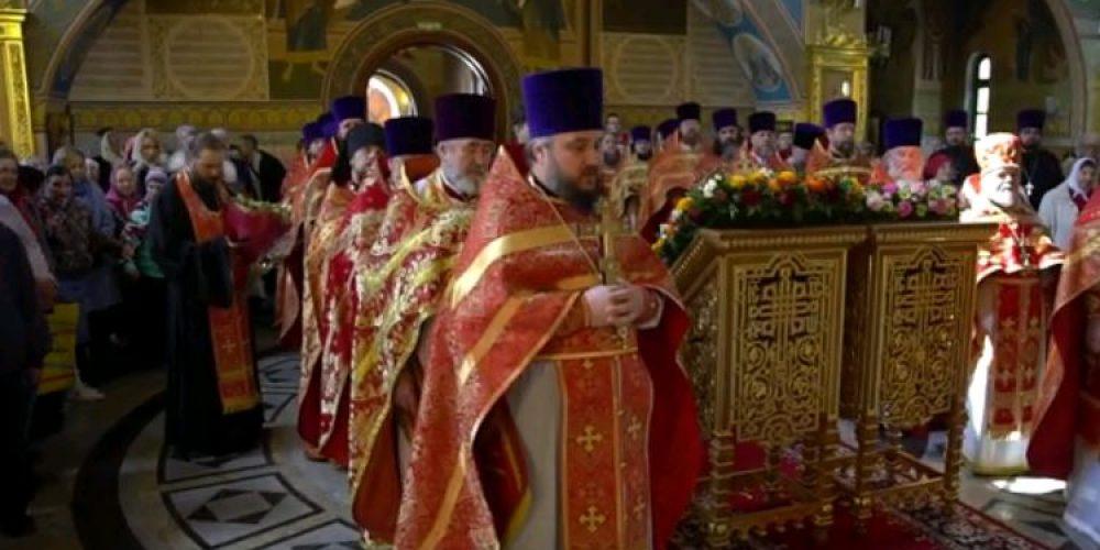 Проповедь архиепископа Егорьевского Матфея 30.04.2019