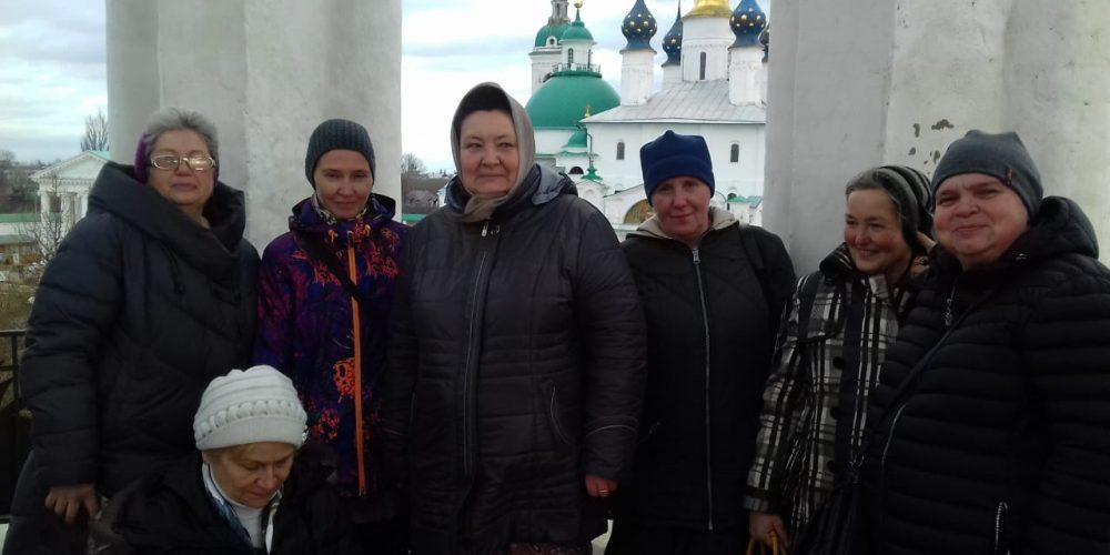 Очаковский приход организовал поездку в Ростов Великий для ТЦСО
