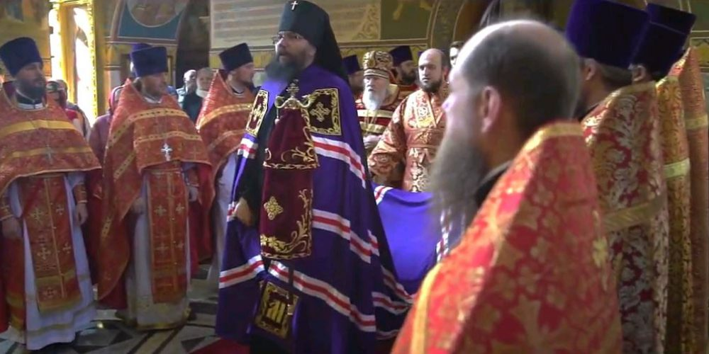 Пасхальное богослужение Западного викариатства в Иверском храме в Очаково-Матвеевском г. Москвы