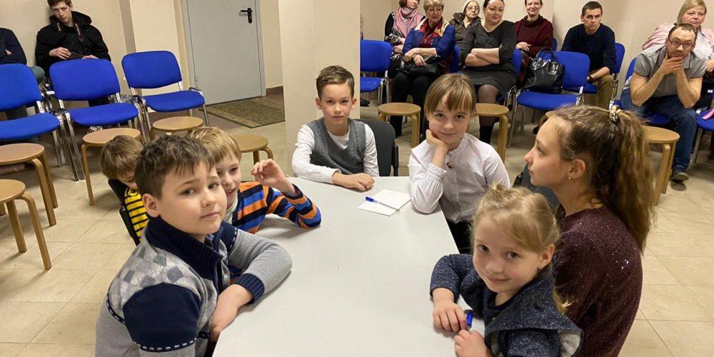 Детская викторина на тему Православия прошла в храме Иоанна Русского