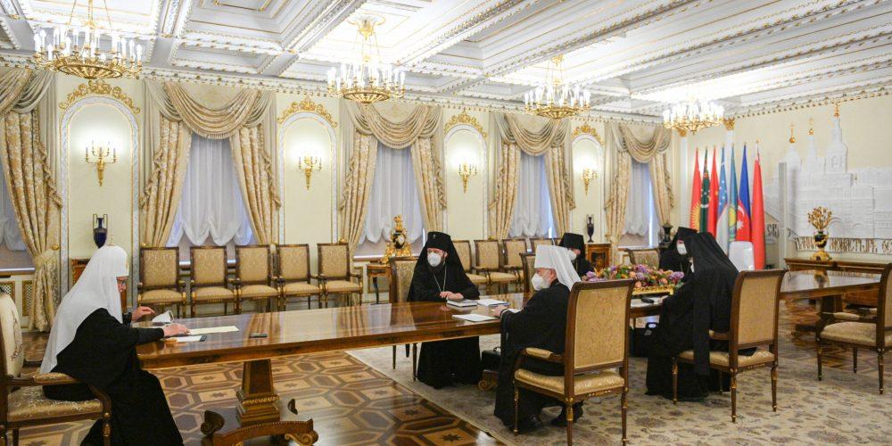 Епископ Фома принял участие в заседании Архиерейского совета Московской митрополии