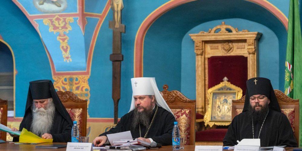 Епископ Фома принял участие в заседании Епархиального совета города Москвы