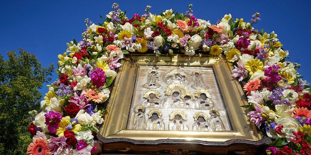 В день празднования Колочской иконы Божией Матери епископ Фома совершил Литургию в Успенском Колоцком женском монастыре