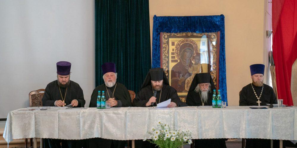 Под председательством Преосвященного Фомы в Западном викариатстве прошла пастырская конференция (+ фото)