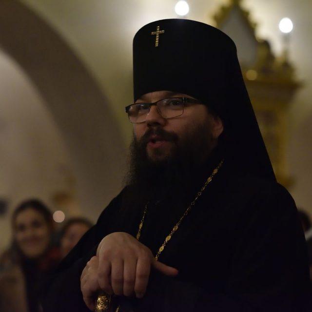 Проповедь архиепископа Егорьевского Матфея 10.04.2019.