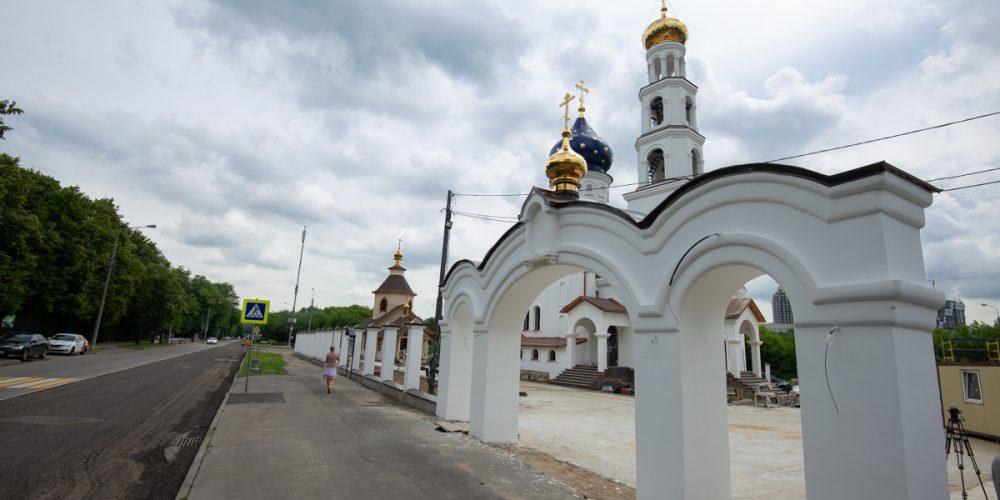 В 2020 году, к 30-летию со дня образования МЧС, будет освящен храм Смоленской иконы Божией Матери в Фили-Давыдково