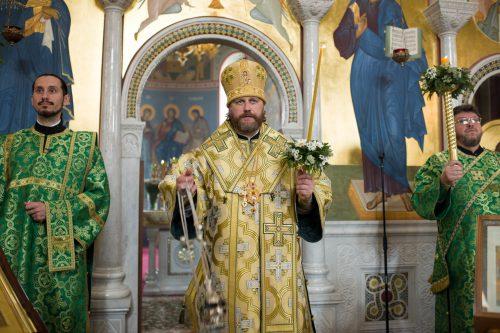 Праздничные богослужения в день преподобного Сергия Радонежского были совершены в храме в Солнцево