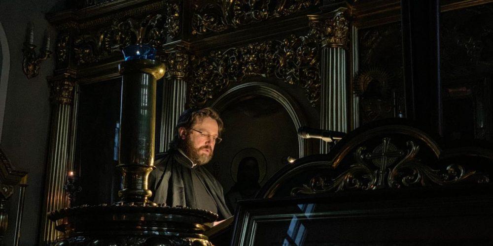 Епископ Фома совершил уставное богослужение понедельника первой седмицы Великого поста в Хамовниках