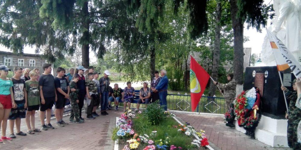 Военно-патриотический слет «Красная Звезда», организованный Управой района Тропарево и приходом Архангела Михаила, прошел под Калугой