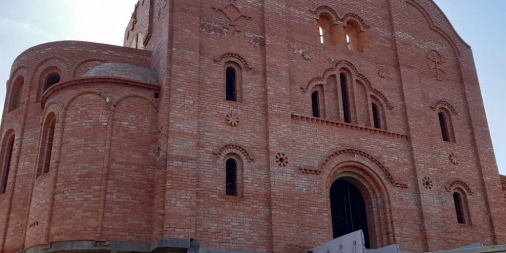 В храме Марии Магдалины на Сетуни продолжается сбор средств на окончание строительства кирпичной кладки