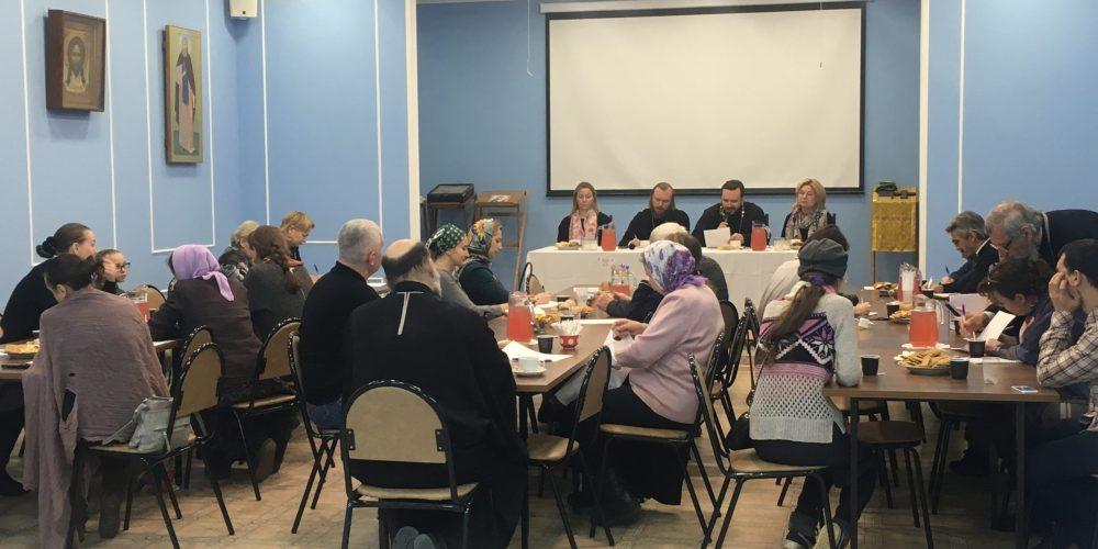 «Как организовать работу с семьями на приходе»: в Раменках прошел семинар по социальному служению (+ фото)