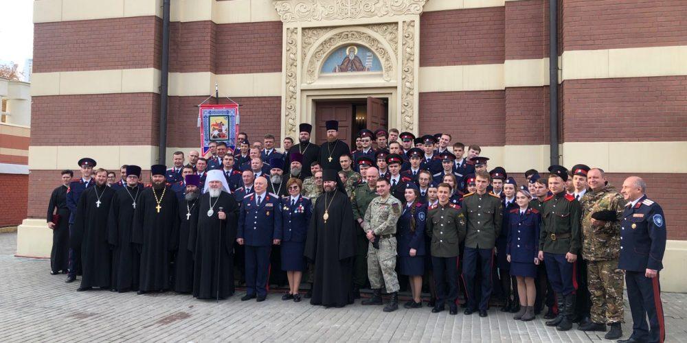 Епископ Фома сослужил митрополиту Ставропольскому и Невинномысскому Кириллу в храме на Ходынке (+ фото)