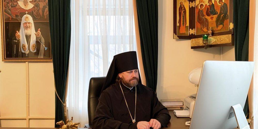 Епископ Павлово-Посадский Фома принял участие в заседание Высшего Церковного Совета Русской Православной Церкви