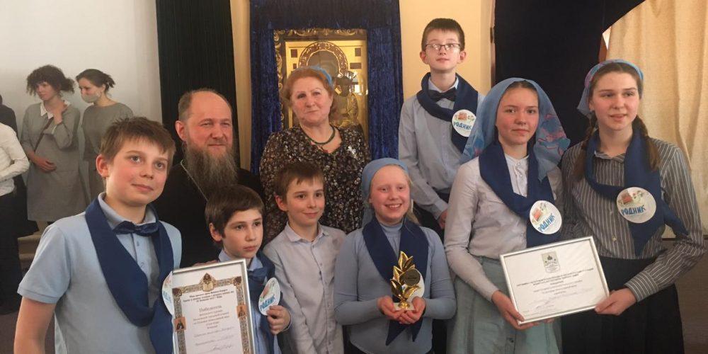 Команда Западного викариатства стала победителем «Своей игры» по основам православной веры среди учащихся воскресных школ города