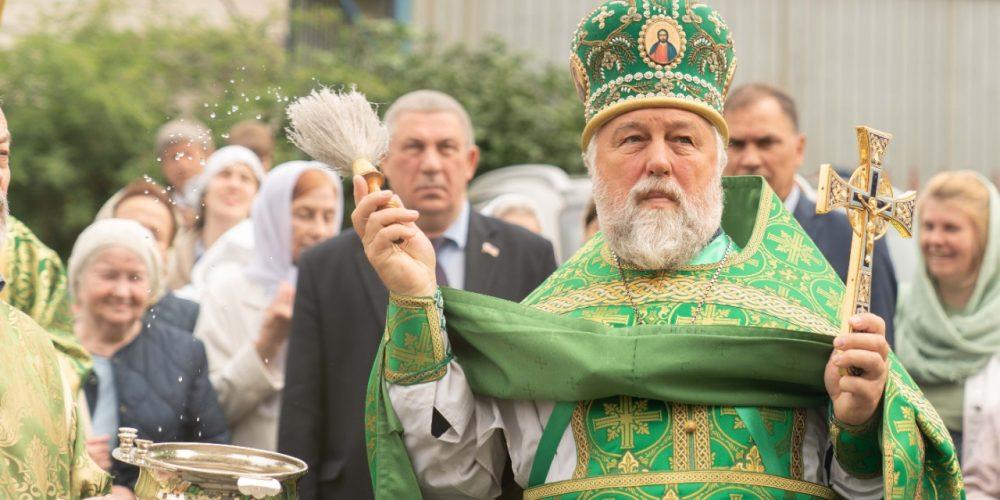 Поздравляем с днем тезоименитства благочинного Михайловского округа протоиерея Георгия Студенова