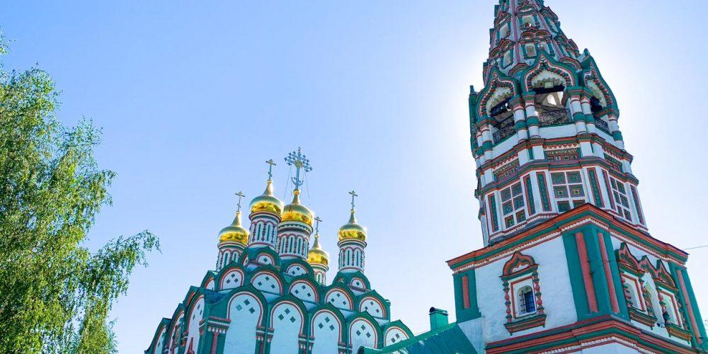 Владыка Фома совершил Божественную литургию в храме святителя Николая в Хамовниках