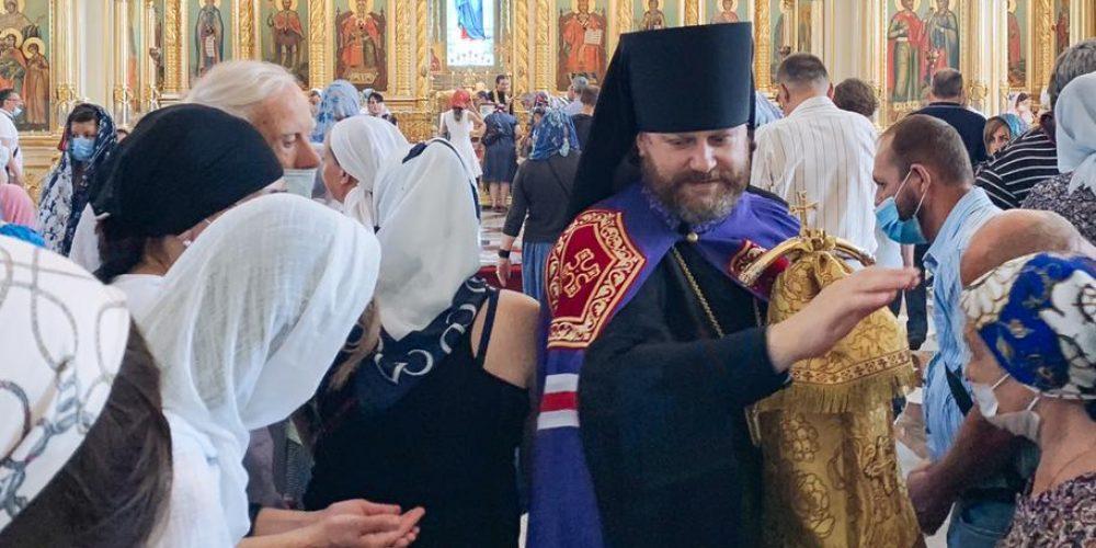 В Георгиевском соборе города Одинцова епископ Фома совершил богослужения