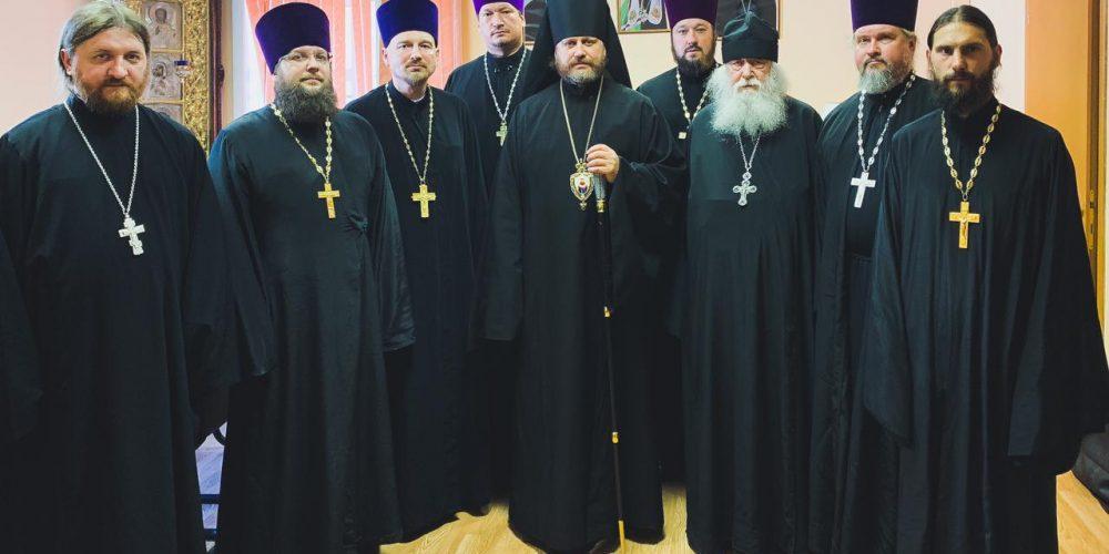 Под председательством владыки Фомы состоялось первое заседание Епархиального совета Одинцовской епархии