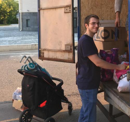 Добровольцы храма прп. Андрея Рублева в Раменках отправили гуманитарный груз в Рыбинск