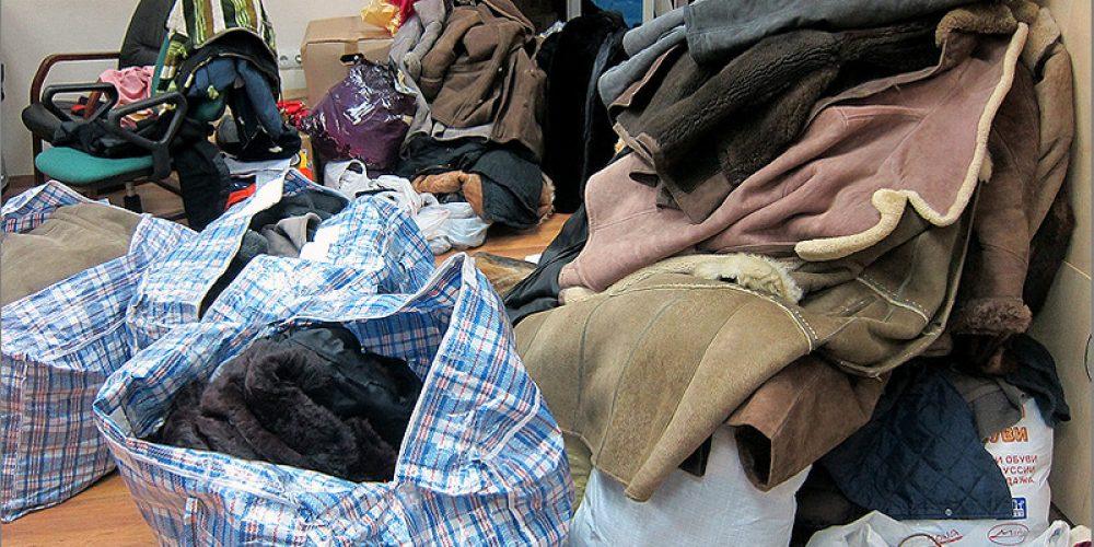 """Акция по сбору теплых вещей """"Одень бездомного"""""""