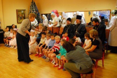 Епископ Бронницкий Игнатий посетил специальный (коррекционный) детский дом № 11