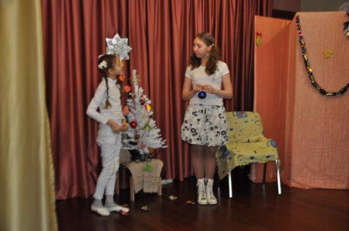 Спектакль театра воскресной школы храма прав. Иоанна Русского в Кунцево для детей из «Центра социальной помощи»