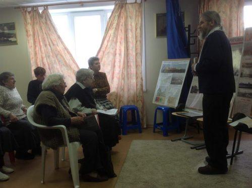 Встреча с инициативной общиной по возрождению святынь московского района Дорогомилово в Воскресной школе «Росток»
