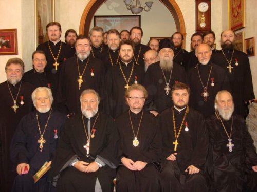 Встреча Епископа Выборгского и Приозерского Игнатия с духовенством Западного викариатства