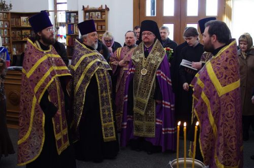14 апреля 2013 года в Западном викариатстве города Москвы освящен новый храм